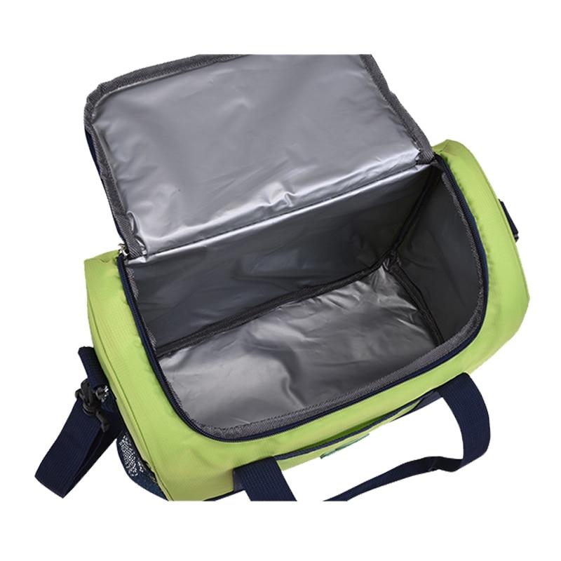Large Capacity Baby Insulation Breast Milk Bottle Thermal Bags Portable Mummy Feeding Milk Food Keep Warm Shoulder Bag BB5021