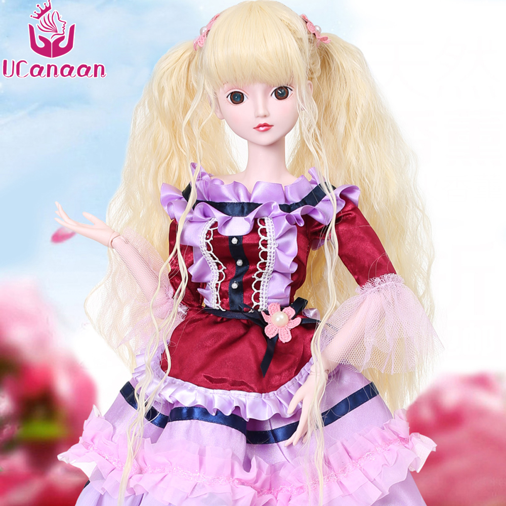 Ucanaan 1/3 Large BJD/SD Doll Mosa Dancer Body Joints Can Be Activity Fashion Lovely Style BJD Toys The Best Gift For The Child
