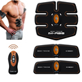 Wireless Smart Multi-Function EMS Abdominal Fitness Exerciser Training Muscles Intensive Training Loss Slimming Massager