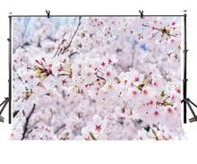 7x5ft Flowers Backdrop Bokeh Blooming Photography Background and Studio Props