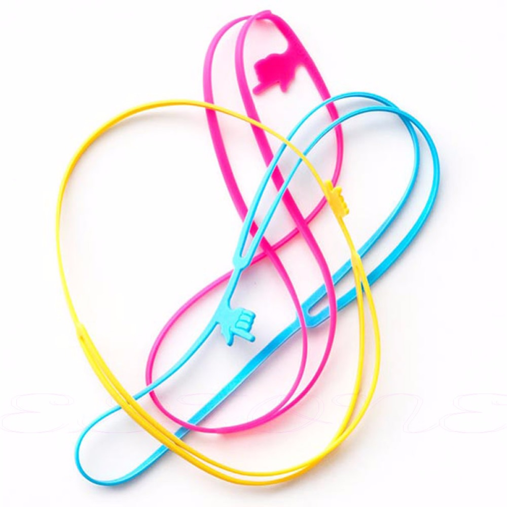 1pcs Elastic Silicone Point Finger Bookmark Highlighter Book Marker Home Office
