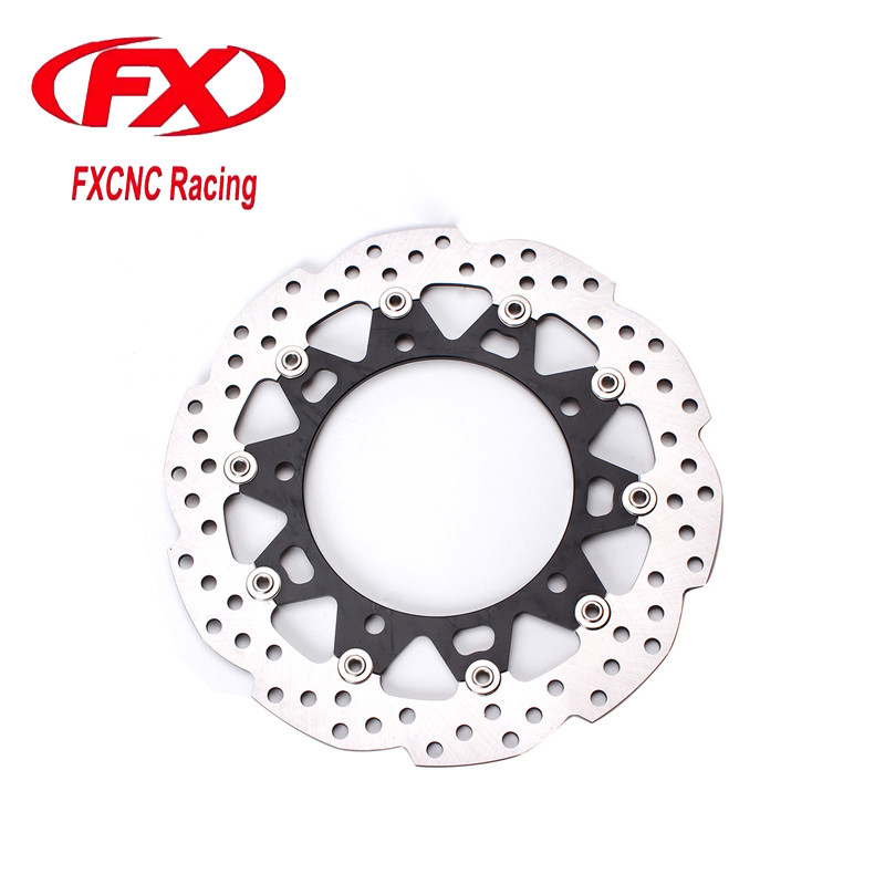 FXCNC Motorcycle Brake Disc 300mm Floating Front Brake Disc Disks Rotor For Honda CB190R Motorbike Front Brake Disc Disks Rotor 320mm floating motorcycle brake disc disks rotor for ktm duke 125 200 390 duke 2013 2016 motorbike front brake disc disks