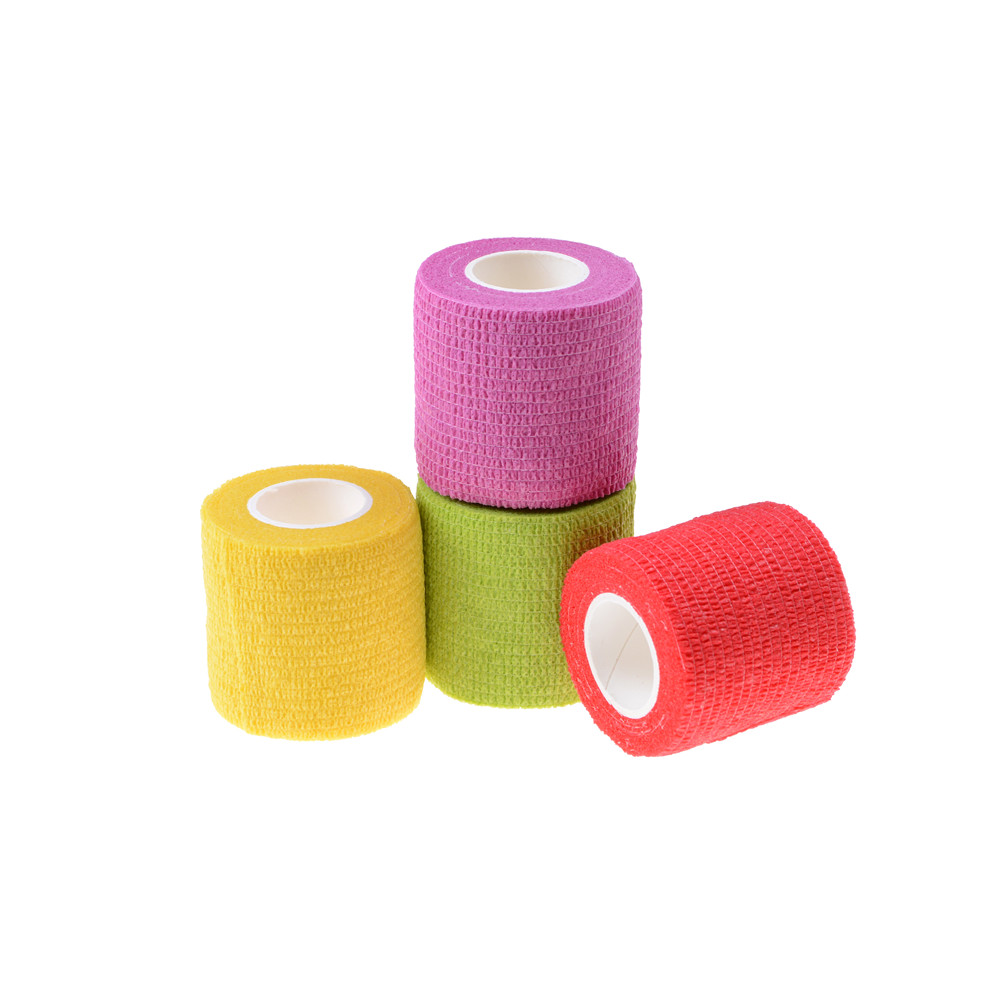 2019 New Security Protection Waterproof Self-adhesive Cshesive Bandages Elastic Wrap First Aid Sports Body Gauze Medical Tape Security & Protection
