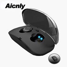 TWS Eurbuds Com Carregamento Sem Fio Bluetooth fone de Ouvido de Alta Fidelidade de Graves Fone de ouvido Fones De Ouvido Caixa Auriculares headphones Blutooth