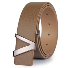 Cowhide Leather Luxury Business Men's Belt