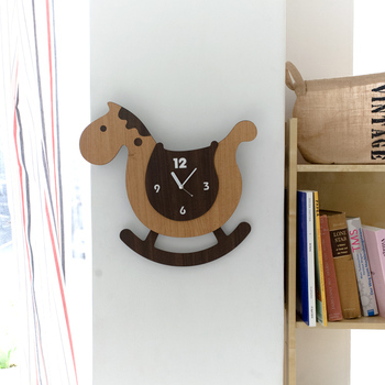 Mandelda clocks wall clock child cartoon swing mute clock personality pocket watch childhood