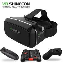 Оригинальный VR shinecon виртуальной реальности VR коробка 3D VR Очки игровое поле Google доска для 4.0-6.0 дюймов смартфон
