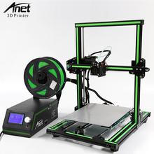 Anet E12 E10 A8 A6 3d Printer Kit FDM Desktop 3d Printer Machine Update Threaded Rod  Reprap i3 3D Printer With 1KG Filament