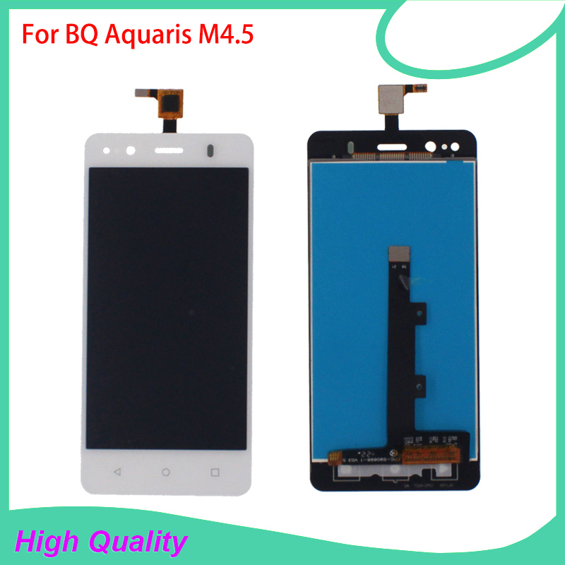 High Quality LCD Display For BQ Aquaris M4.5 4.5Inch Touch Screen Digitizer Assembly 100%Tested Mobile Phone LCDs