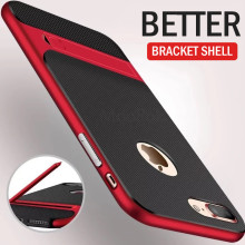 ZNP Shockproof Kickstand Full Cover Case For iPhone