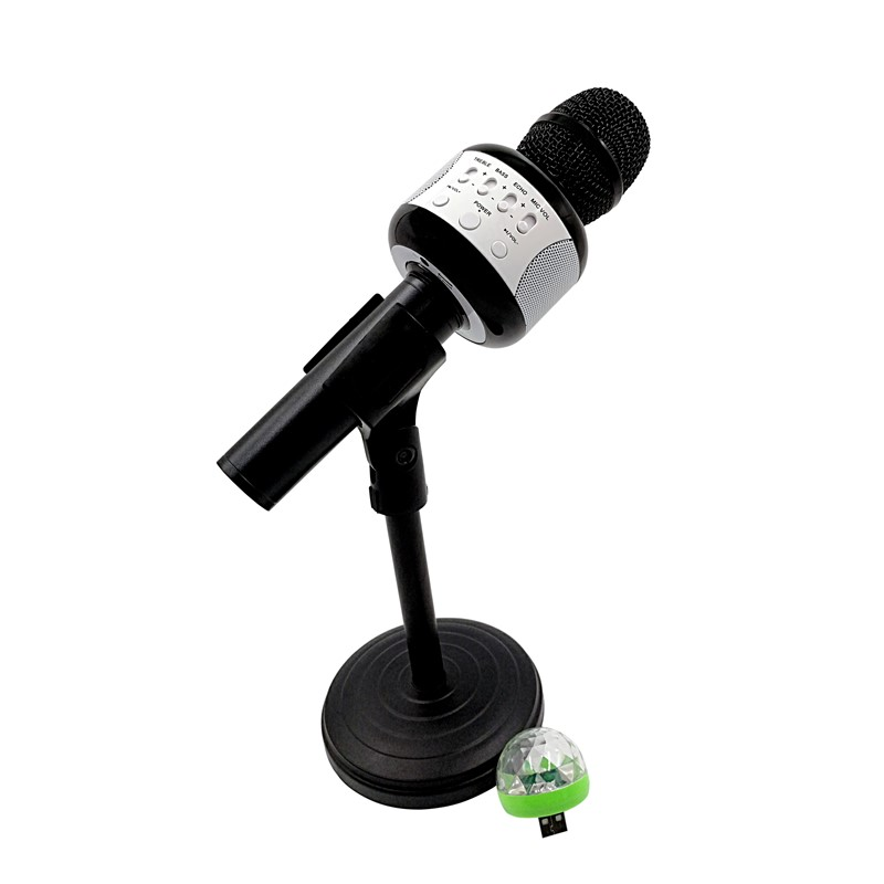 E106 Wireless Karaoke Microphone Bluetooth Handheld Phone MIC Music Speaker