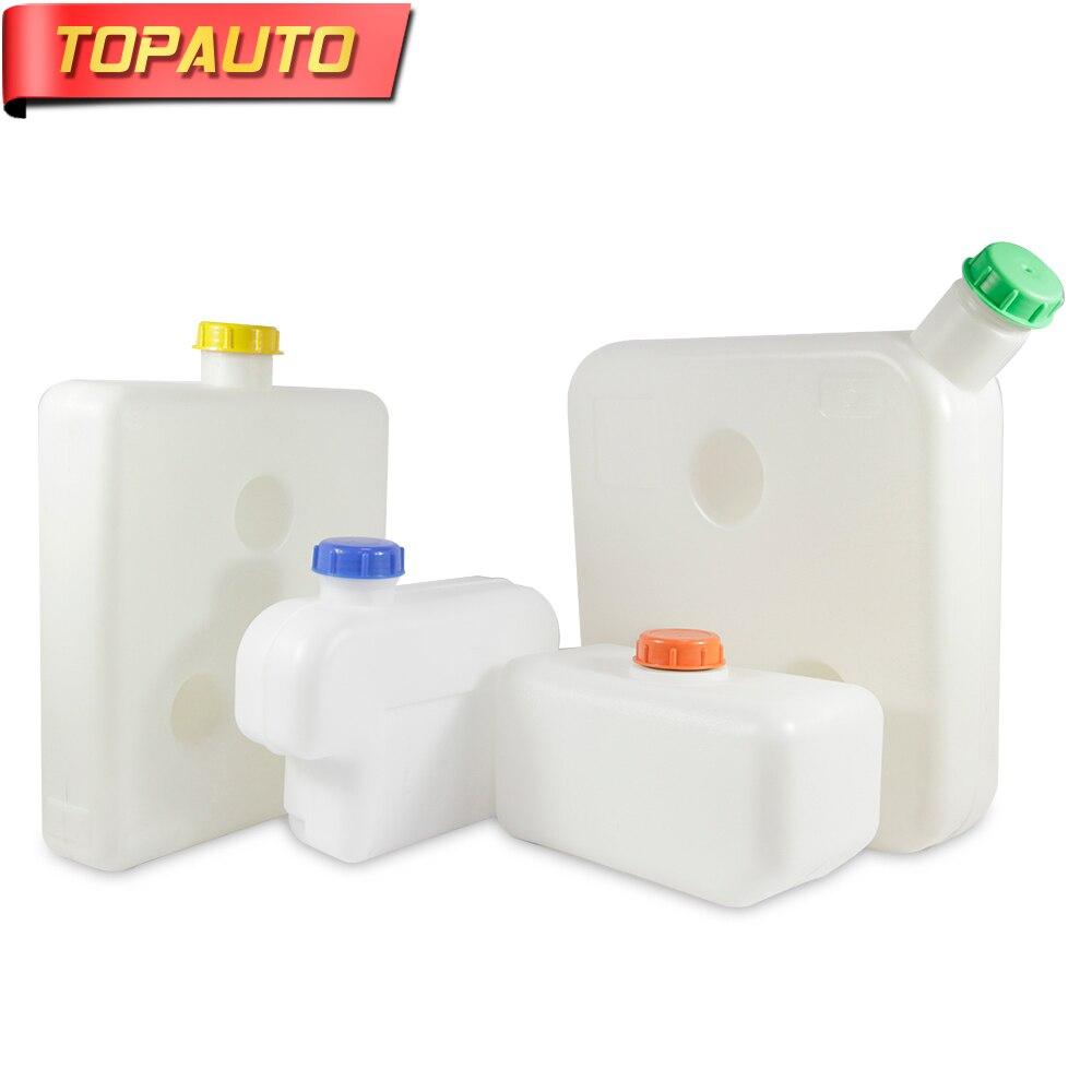TopAuto 5L5.5L8.8L10L15L Plastic Fuel Tank Gasoline Diesel Oil Carburant Storge Water Tank Parking Heater Moto Car Accessories