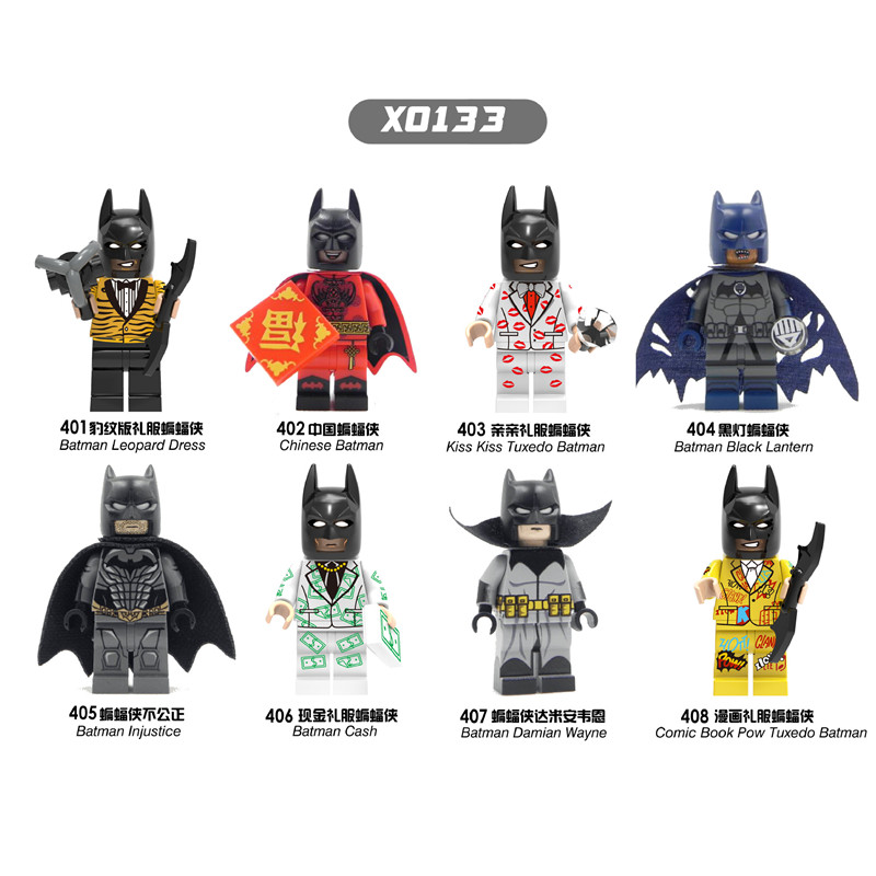 Single Sale Super Heroes Big batman movie batman Leopard Dress Batman Cash Building Blocks Best Children Gift Toys X0133 single sale pirate suit batman bruce wayne classic tv batcave super heroes minifigures model building blocks kids toys gifts