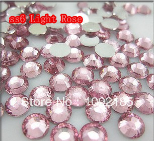 SS6 Light Rose Color 10000pcs/pack Flatback Acrylic Rhinestones Nail Art Rhinestones Free Shipping ss6 light rose color 10000pcs pack flatback acrylic rhinestones nail art rhinestones free shipping