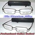 Оптический сшитое оптические линзы Titanium alloy серый полный обод рама очки для чтения + 1 + 1.5 + 2 + 2.5 + 3 + 3.5 + 4 + 4.5 + 5 + 5.5 + 6