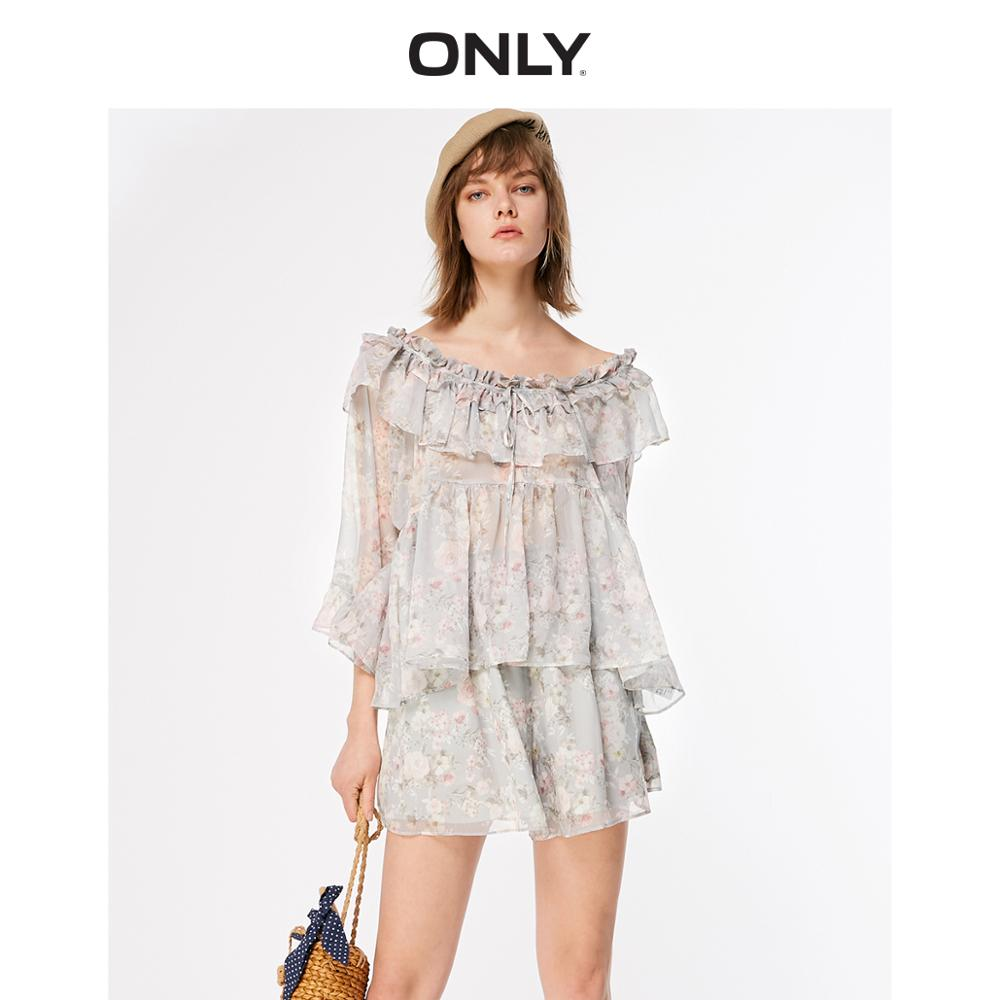 ONLY 2019 Spring Summer Women's Loose Fit Shorts |119178524