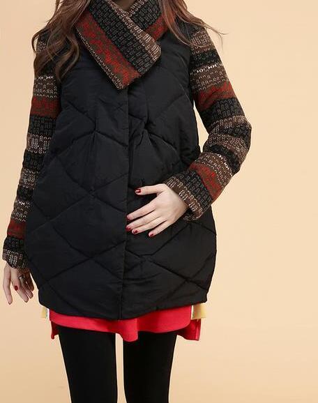 2015 горячая новая мода зимние куртки для беременных женщин по беременности и родам полный теплые твердые stype женщины пальто вниз парки
