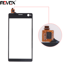New Front Panel For Sony Xperia C4 E5303 E5363 E5333 E534 Touch Screen Sensor Digitizer Outer Glass Repair White Black lcd display for sony for xperia c4 e5303 e5333 e5353 lcd with digitizer touch screen assembly black and white free shipping