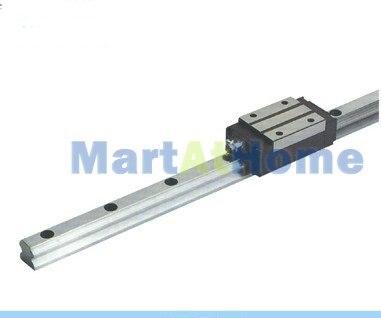 CNC прямоугольная шариковая линейная рейка 20 мм 500 мм с узким блоком/карета# SM381@ SD