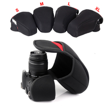 DSLR Camera Inner Soft Bag Case For Canon 200D 800D 1200D 600D 750D 700D 100D 1300D 80D 760D 1500D 550D 1100D 650D 7DMII 5D3 6D
