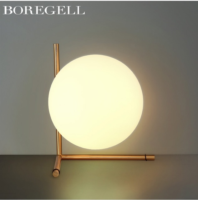 Usa design moon table lamp in led table lamps from lights usa design moon table lamp aloadofball Image collections