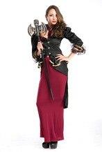 Ensen vampiro cosplay larga dress antiguos queen fantasia carnaval de halloween de la alta calidad de noche dress fairy dress