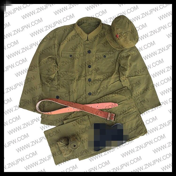 WW2 Chinese Chinese People 's Volunteers Army Uniform Cotton Hat Belt Replica CN/50112 replica mi111 7x16 6x139 7 d67 1 et46 s