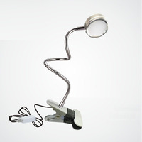 Highly Portable LED Light Eyebrow Tattoo Rotate Freely Collapsible Small Desk Lamp Student Super Bright
