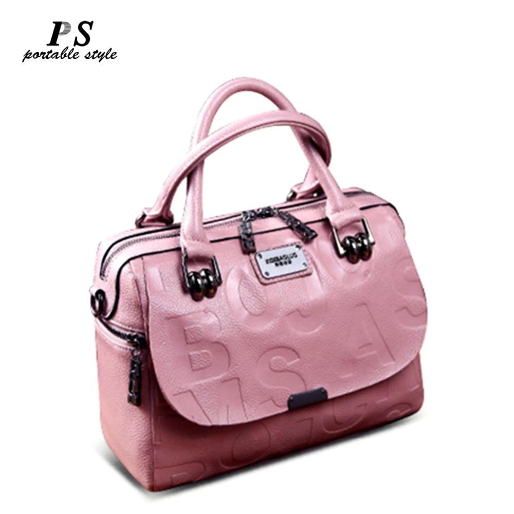 100% Genuine Leather Handbag Women Shoulder Bag Crossbody Messenger Bags Lady Totes European Style Ladies Large Top-Handle Bag