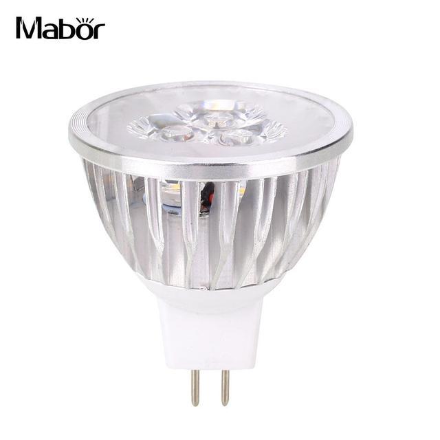 Led Bulb Long Life Room Lighting 12v 3w Party Supply Aluminum Fixture Spotlight Indoor