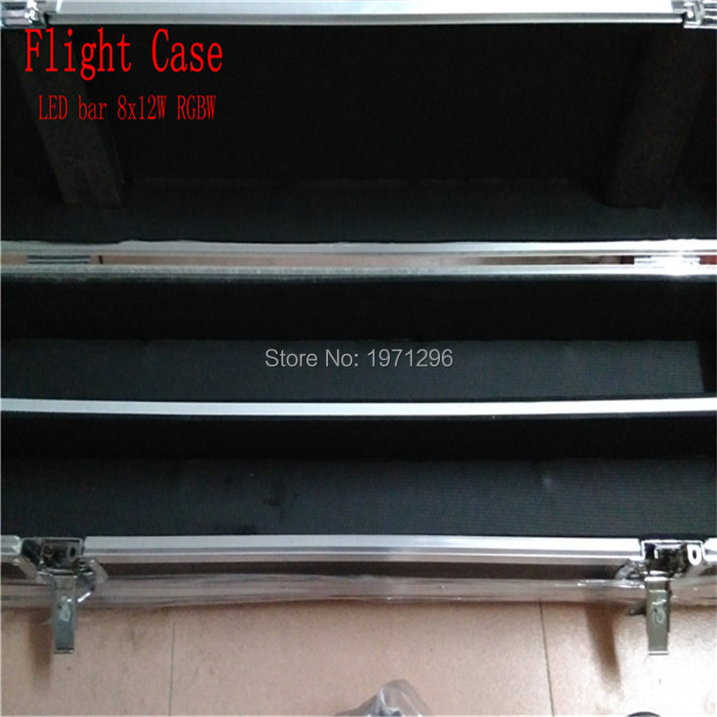 Free&Fast Shipping High Quality Flight Case/Flight Package Perfect For LED Bar 8x12W RGBW can put 2piece LED Bar