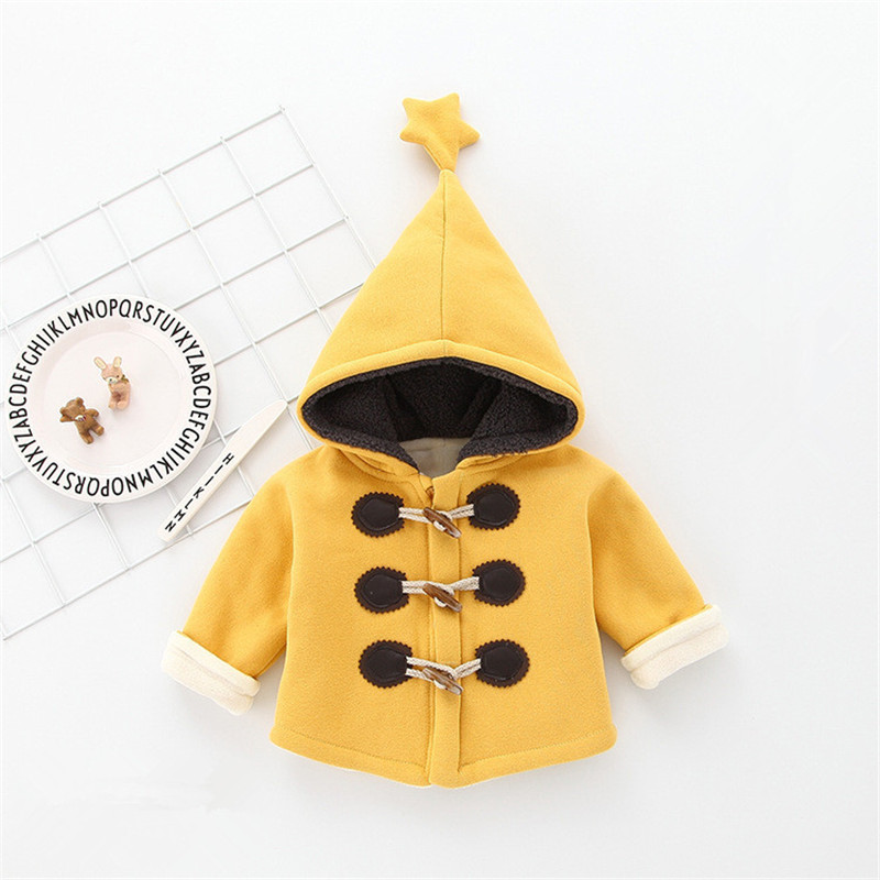 3d6e61186 Buy Boys Girls Winter Coat Children Cute Thick Hooded Cotton Jacket ...