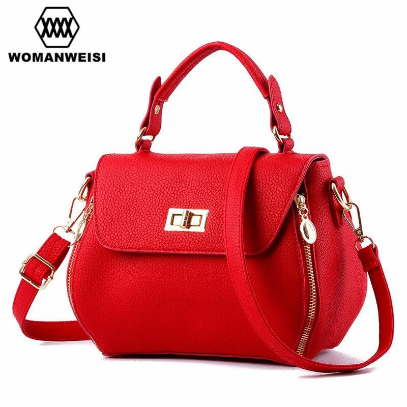 Luxury Handbags Women Bags 2018 New Design Famous Brand Women's Leather Messenger Shoulder Bags Female Cross-Body Bags Kabelky