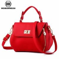 Luxury Handbags Women Bags 2018 New Design Famous Brand Women's Leather Messenger Shoulder Bags Female Cross Body Bags Kabelky