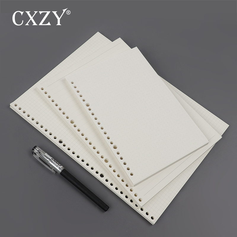 CXZY A5 B5 Loose Leaf Page Refill Spiral 20 26 holes dotted grid blank Notebook Paper  Planner sketch bullet diary filofax 4B832CXZY A5 B5 Loose Leaf Page Refill Spiral 20 26 holes dotted grid blank Notebook Paper  Planner sketch bullet diary filofax 4B832