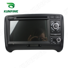 Quad Core 1024*600 Android 5.1 Car DVD GPS Navigation Player for Audi TT Radio Bluetooth Wifi/3G steering wheel Control Remote