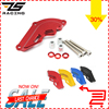ZS Racing Motorcycle Parts CNC Aluminum Alloy Engine Cover Protection Pad Kit For Kawasaki Z800 2010