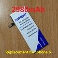 2980 mah reemplazo de la batería del teléfono móvil para apple iphone 6 4.7 ''por iphone 6 4.7 inch