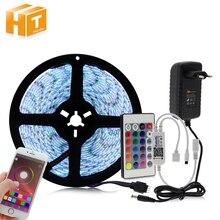 Bluetooth Controller RGB LED Strip Set 12V LED Strip 5050 5m 60LED m 24key Bluetooth Controller
