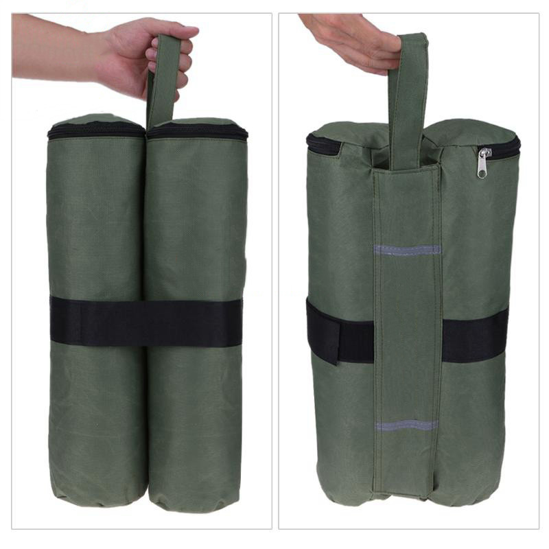 Practical Awning Display Shed Support Frame Fixed Sandbag Black Green White Oxford Cloth Tents Bags Camping Picnic Outdoor Tools car seat