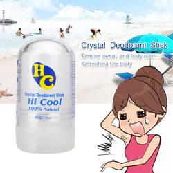 Чанни Для женщин человек квасцов Придерживайтесь дезодорант-стик антиперспирант Стик квасцовый дезодорант Кристалл дезодорант для