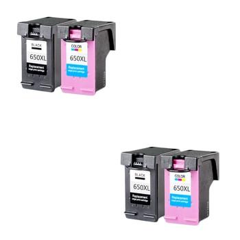 LuoCai Compatible ink cartridge For HP650 For HP 650 XL Deskjet Ink Advantage 1015 1515 2515 2545 2645 3515 3545 4515 4645 650xl