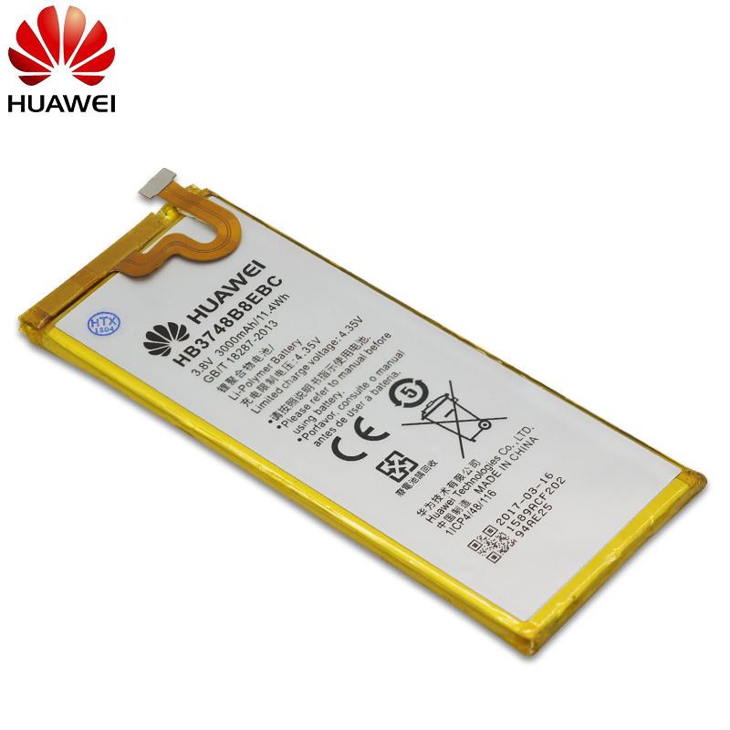 Hua Wei Hb3748b8ebc Original Replacement Phone Battery For Huawei C199 C199-cl00 Ascend G7 G7-tl100 Li-ion Battery 3000mah+tools Mobile Phone Parts