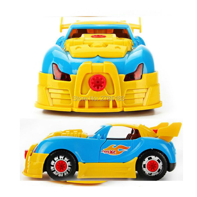 Build Your Own Car Kit >> Aliexpress Com Buy Take Apart Toy Racing Car Kit For Kids Build