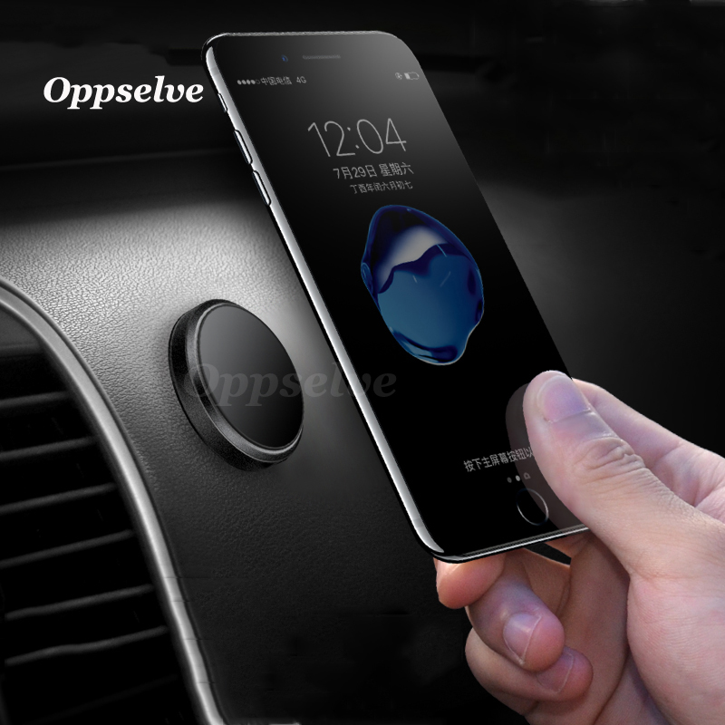 Mini Magnetic Mobile Phone Holder Car Dashboard Bracket Cell Phone Holder Stand For iPhone X 8 7 6S 6 Samsung S9 S8 Magnet Mount in Phone Holders Stands from Cellphones Telecommunications