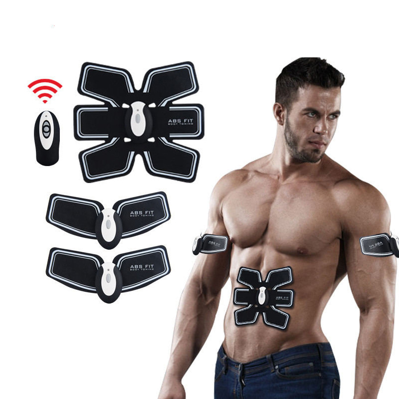 Smart EMS Abdominal Muscle Stimulator Exerciser Trainer Device Muscles Intensive Training Weight Loss Slimming Massager Machine portable electric smart fitness gear equipment slim massager ems electrical muscle stimulator muscle stimulator training gear