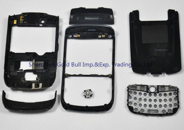 For BlackBerry Curve 8900 Original New Full Complete Mobile Phone Housing Cover Case+Keypad(with joystick)+Tools, Free shipping