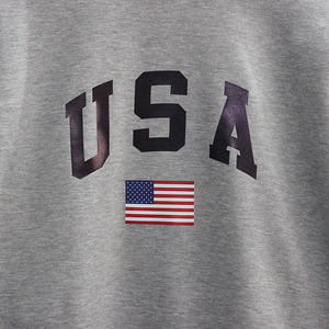 Image 4 - GAAJ USA America Flag Men Women Sweatshirt Casual Hooded Printed Popular Fleece Man Jacket Sweatshirt Homme Brand Clothing