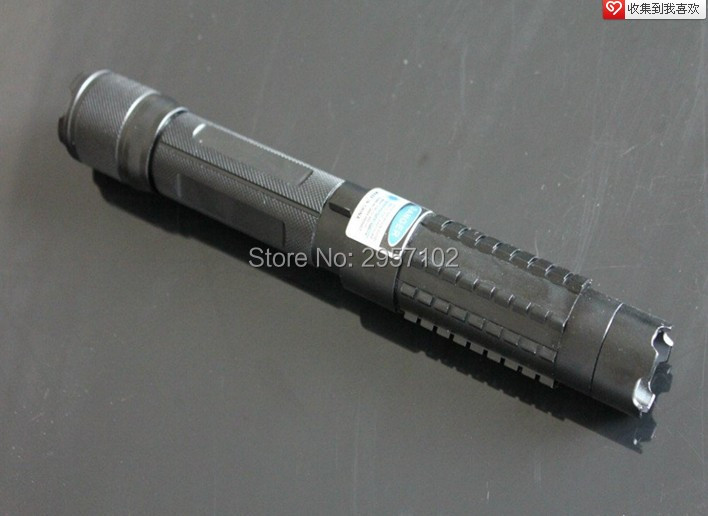 High Power Military 500w 500000m 450nm Blue Laser Pointers Flashlight Lazer light Burning Match Black Burn Cigarettes Hunting in Lasers from Sports Entertainment