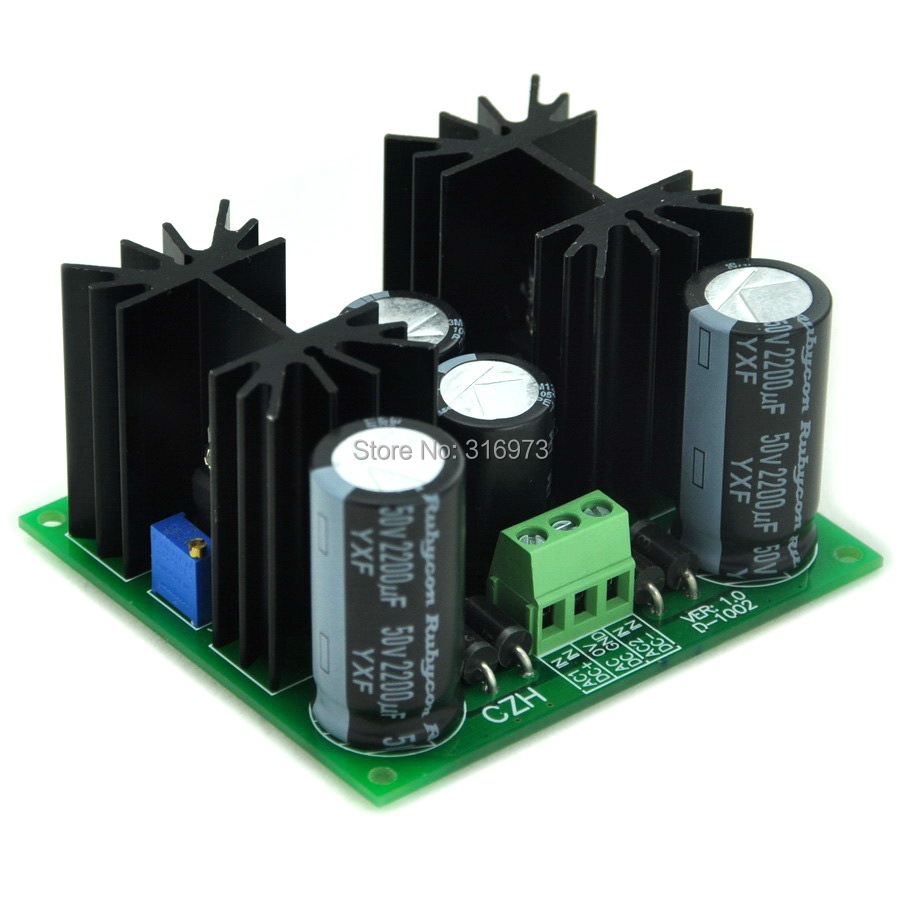 Positive And Negative +/- 1.25~37V DC Adjustable Voltage Regulator Module